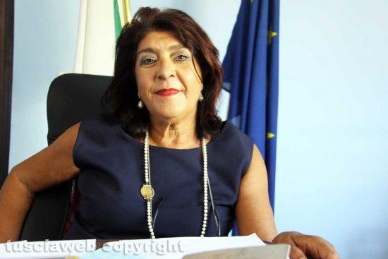 Viterbo - La dirigente scolastica dell'Istituto Orioli Simonetta Pachella