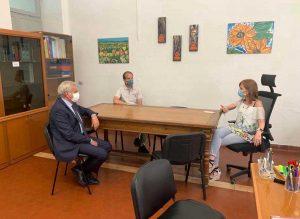Viterbo - Il sindaco Arena visita le scuole