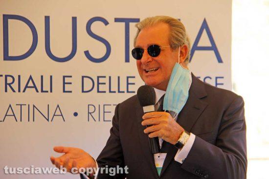 Viterbo - Il presidente di Unindustria Filippo Tortoriello