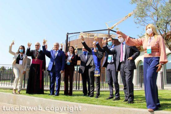 Viterbo - L'inaugurazione della nuova sede di Unindustria