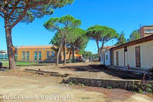 Viterbo - L'area del campo del Pilastro ripulita