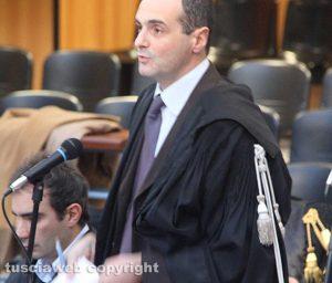 I pubblici ministeri Stefano d'Arma e Fabrizio Tucci (a sinistra)