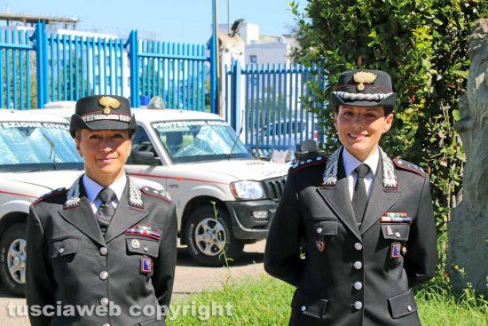 Carabinieri Civita Castellana - Palmina Lavecchia e Anna Patrono