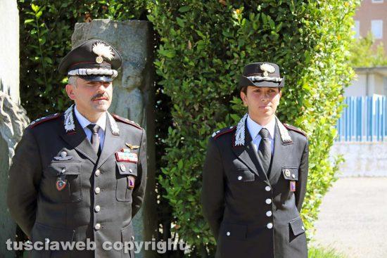 Carabinieri Tuscania - Ciro Laudonia e Pasqualina Frisio