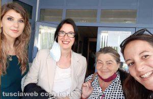 Da sinistra: Arianna Dilio, Maria Grazia Carnevale, Stefania Giommi e Giulia Ragonese