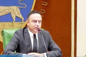 Il presidente della provincia di Viterbo Pietro Nocchi