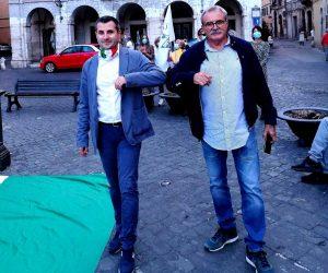 Civita Castellana - Luca Giampieri con Massimo Giampieri