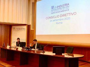 Roma - Virginia Raggi e Riccardo Di Stefano ospiti del gruppo Giovani imprenditori di Unindustria
