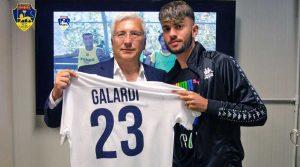 Sport - Calcio - Viterbese - Il presidente Arturo Romano con Gabriele Galardi