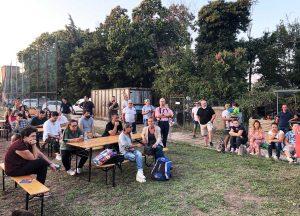 Viterbo - Il primo raduno del Tusciarugby
