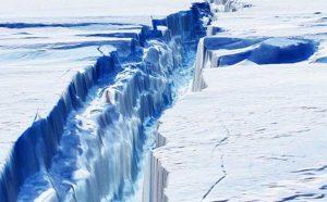 Antartide, il ghiacciaio di di Pine Island