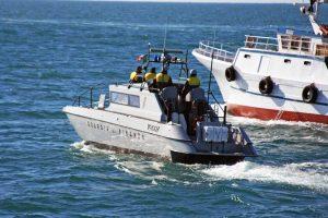 Un intervento della Guardia di finanza in mare
