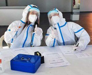 Coronavirus - I test alla palestra Next di Nepi