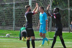 Sport - Calcio - Monterosi - I biancorossi esultano