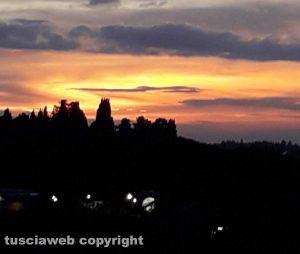 Viterbo al tramonto