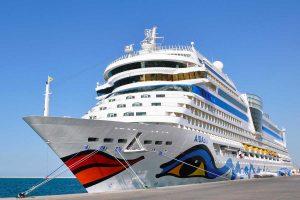 La nave AIDAblu di Costa crociere