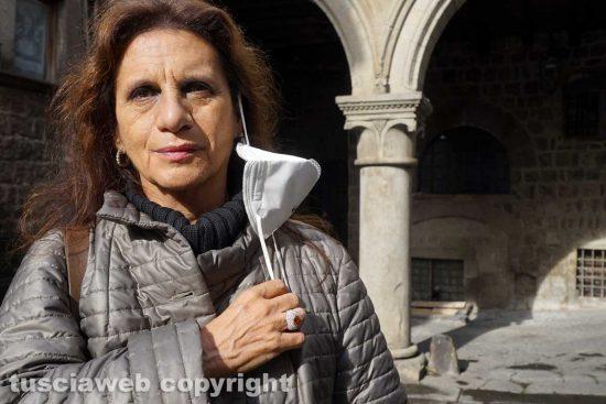Viterbo - L'assessora ai lavori pubblici Laura Allegrini