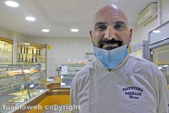 Viterbo - Moreno Pierini della Pasticceria di via Garibaldi