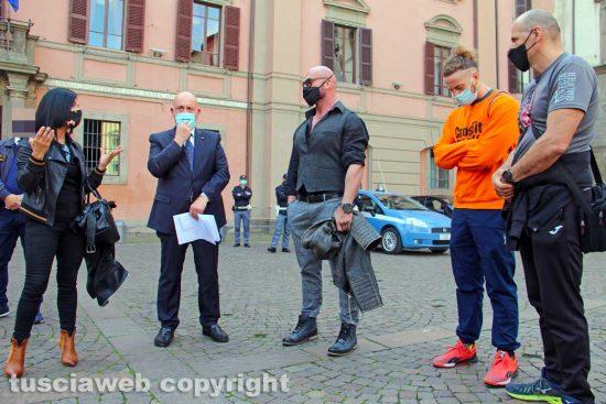 Viterbo - I rappresentanti delle palestre incontrano il prefetto Giovanni Bruno