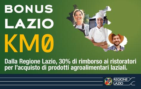 REGIONE LAZIO - BONUS LAZIO KM0 480x300 21-10-20