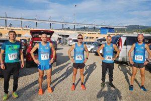 Sport - Atletica leggera - Gli atleti dell'At running ad Arezzo