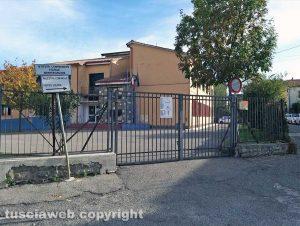 Montefiascone - La scuola media Manzoni dell'istituto Anna Molinaro