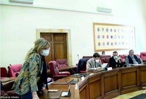 Viterbo - Ombretta Perlorca in consiglio provinciale