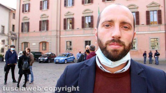 Viterbo - Il delegato comunale allo sport Matteo Achilli