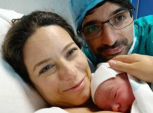 Antonella Sberna e Daniele Sabatini con Angelica
