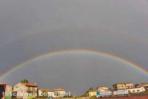 Valentano - L'arcobaleno