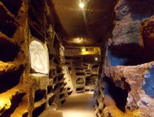 Nepi - La catacomba di santa Savinilla