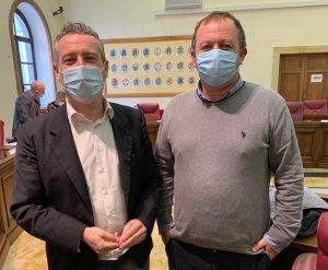 Roberto Camilli e Gianluca Grancini