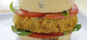 Un hamburger di soia