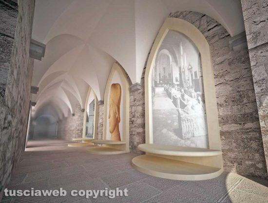 Viterbo - Il progetto per il rilancio del museo civico di piazza Crispi