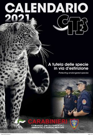 Il calendario Cites dei carabinieri