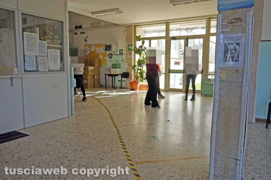 Viterbo - Test rapidi all'istituto Egidi