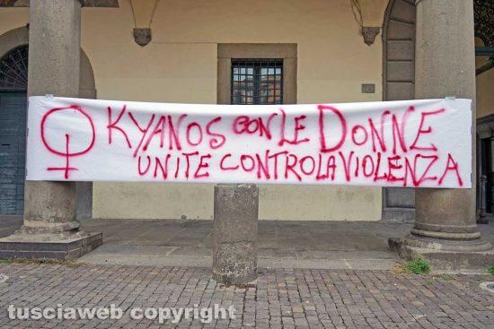 Viterbo - Il flash mob di Kyanos