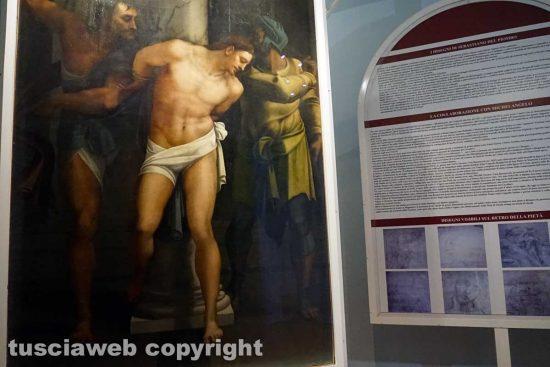 Viterbo - Museo civico - La Flagellazione di Sebastiano del Piombo
