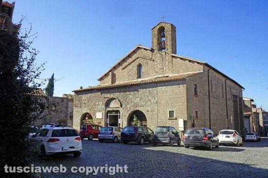 Viterbo - La chiesa di Sant'Andrea a Pianoscarano