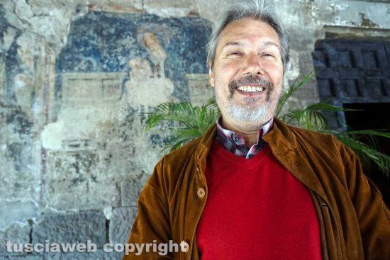 Viterbo - Lo storico dell'arte Fulvio Ricci