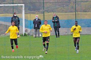 Sport - Calcio - Viterbese - L'allenamento a Canepina - Immagine di repertorio