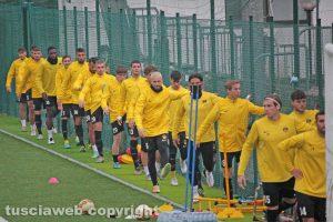 Sport - Calcio - Viterbese in allenamento