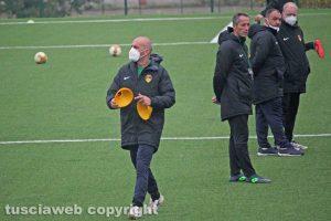 Sport - Calcio - Viterbese - Il primo allenamento di Roberto Taurino