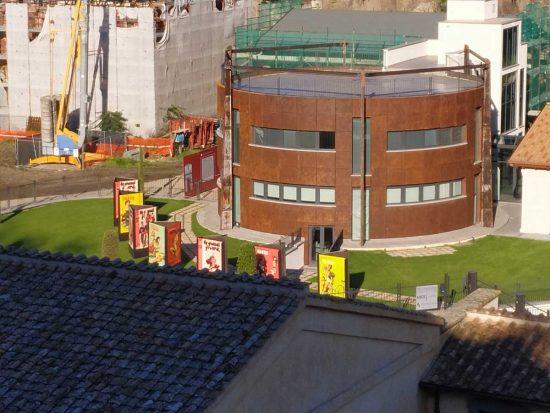 Viterbo - La mostra su Boccasile nella sede di Unindustria
