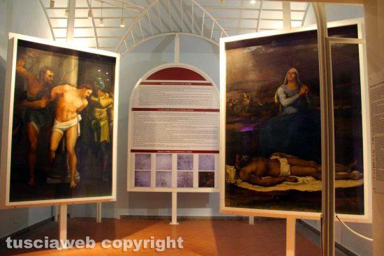 Viterbo - Museo civico - La Flagellazione e la Pietà di Sebastiano del Piombo