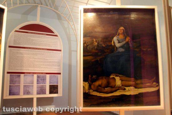 Viterbo - Museo civico - La Pietà di Sebastiano del Piombo