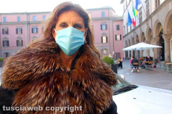 Viterbo - L'assessora Laura Allegrini