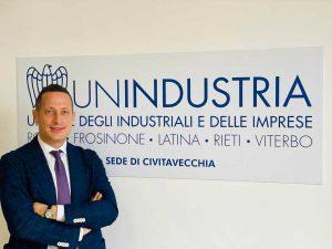 Cristiano Dionisi, presidente Unindustria Civitavecchia