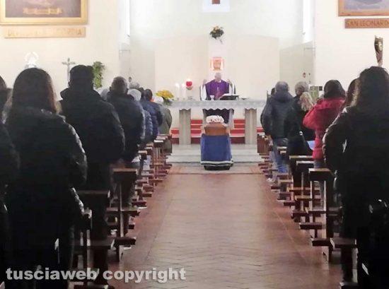Viterbo - I funerali di Anna Iuzzarelli