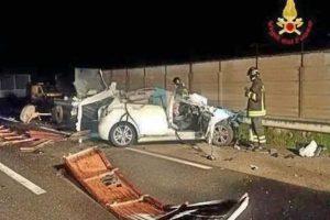 Cagliari - L'incidente mortale
